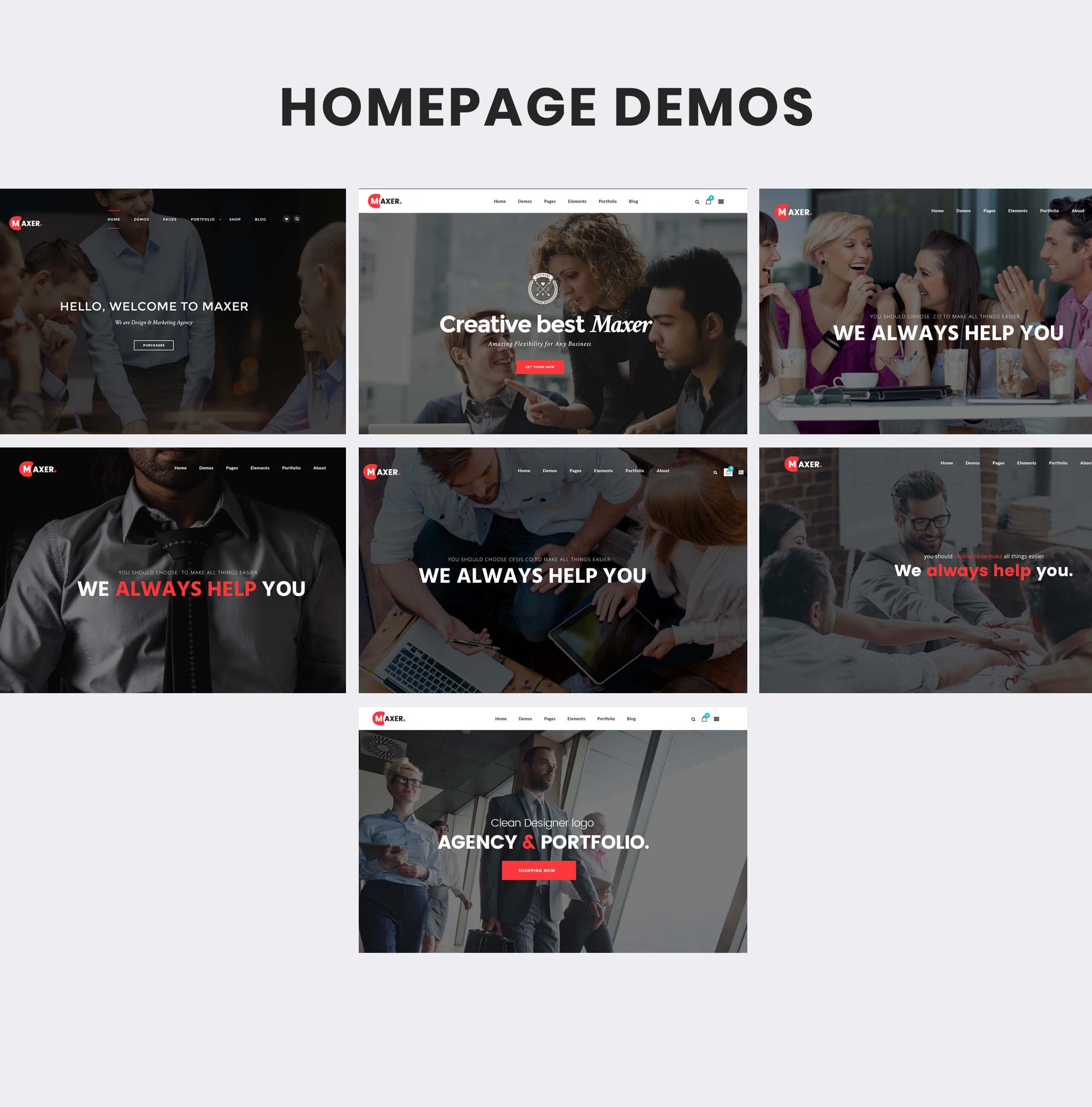 Maxer - Multipurpose Business & Corporate HTML5 Template - 6