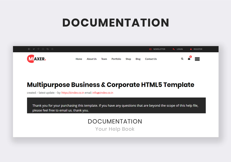 Maxer - Multipurpose Business & Corporate HTML5 Template - 7